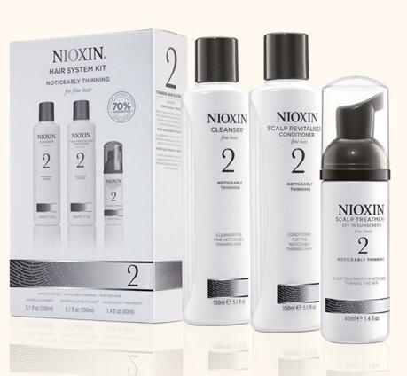 Wella Kit Nioxin System 2 Para Cabelo Fino