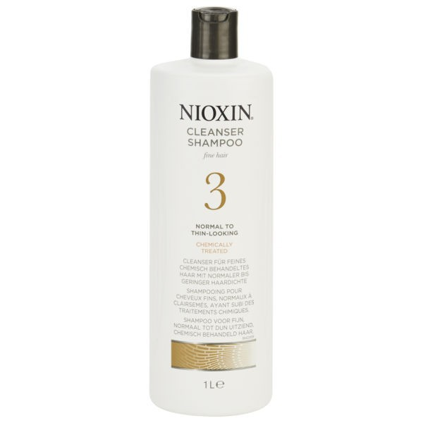 Wella Nioxin System 3 Cleanser Shampoo 1000ml
