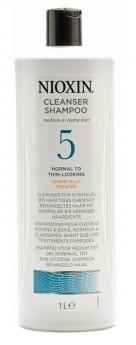 Wella Nioxin System 5 Cleanser Shampoo 1L