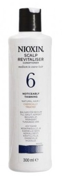 Wella Nioxin System 6 Scalp Revitaliser Condicionador 300ml