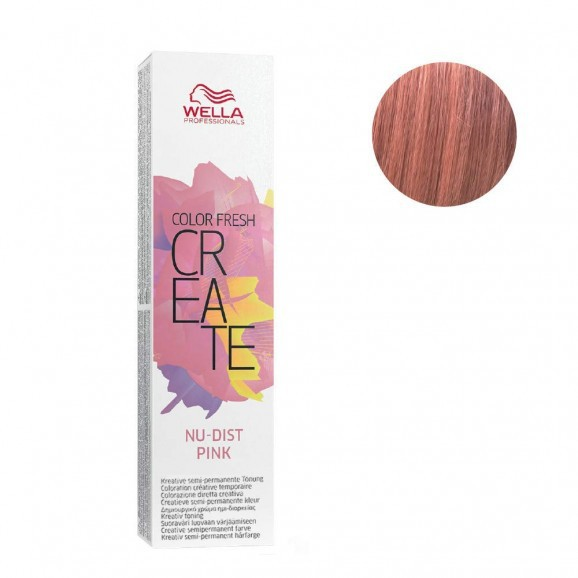 Wella Professionals Color Semipermanente Color Fresh Create Nu-Dist Pink 60ml