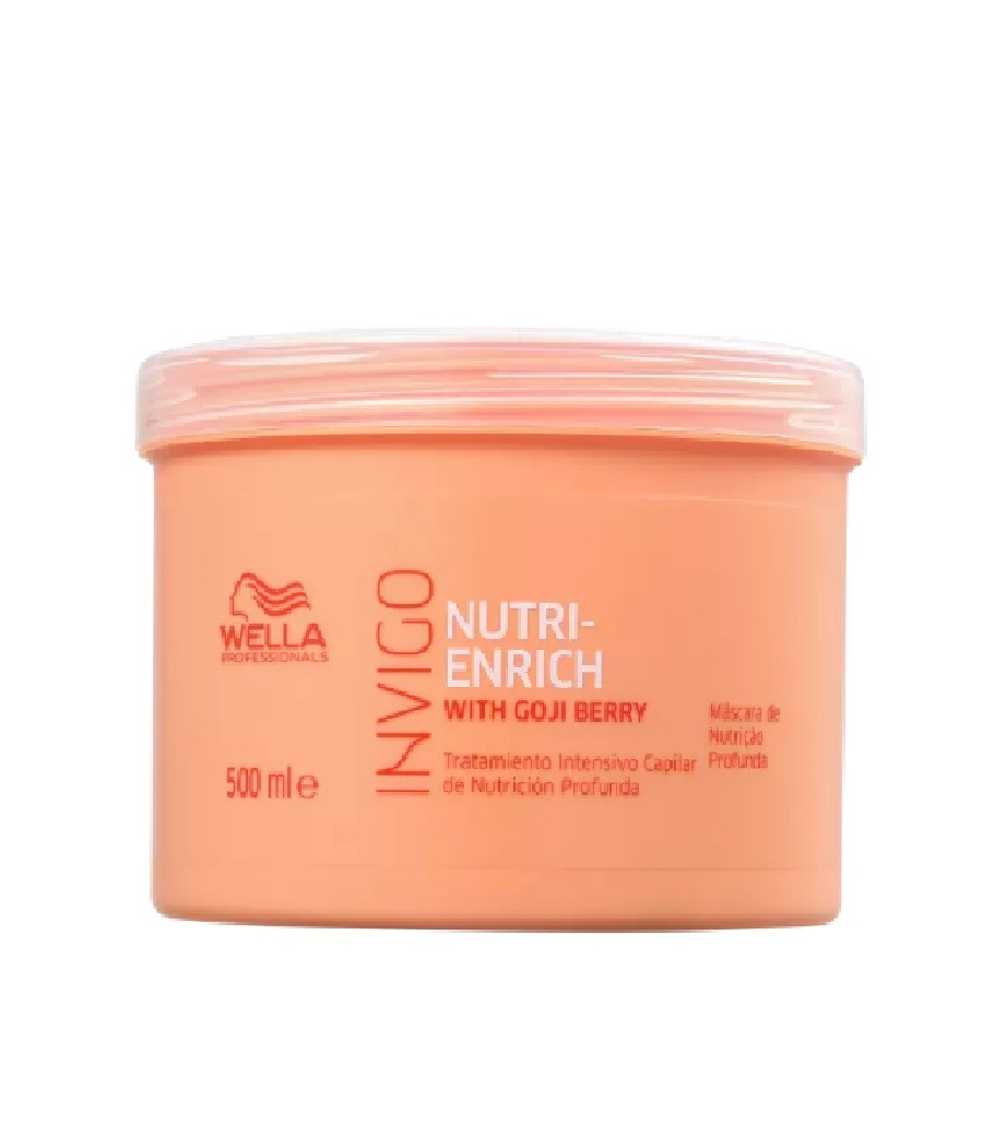 Wella Professionals Invigo Nutri-Enrich - Máscara de Nutrição 500ml - G