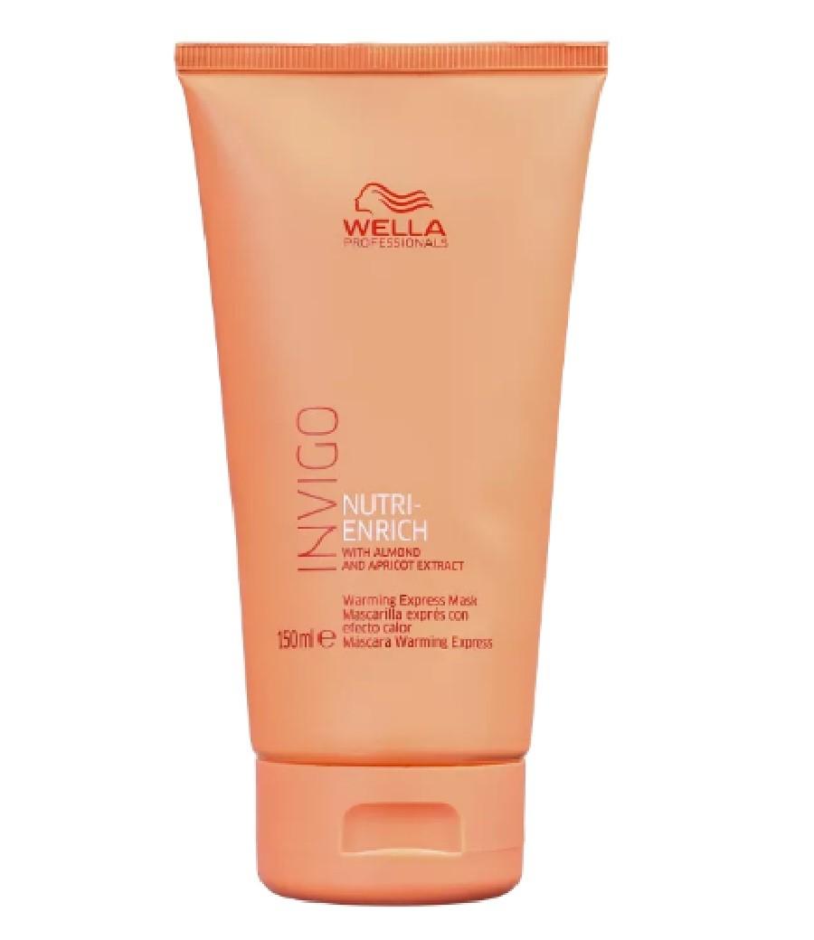 Wella Professionals Invigo Nutri-Enrich Warming Express - Máscara de Nutrição 150ml - G