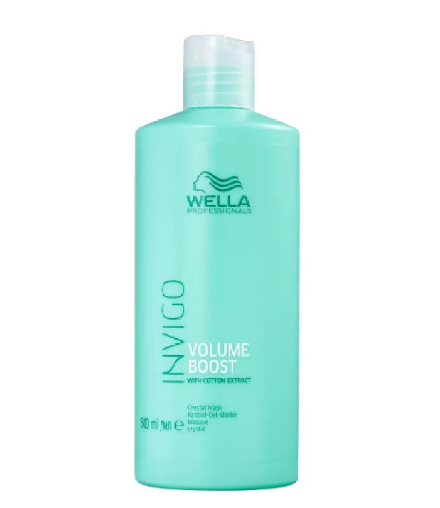 Wella Professionals Invigo Volume Boost Crystal - Máscara Capilar 500ml - G