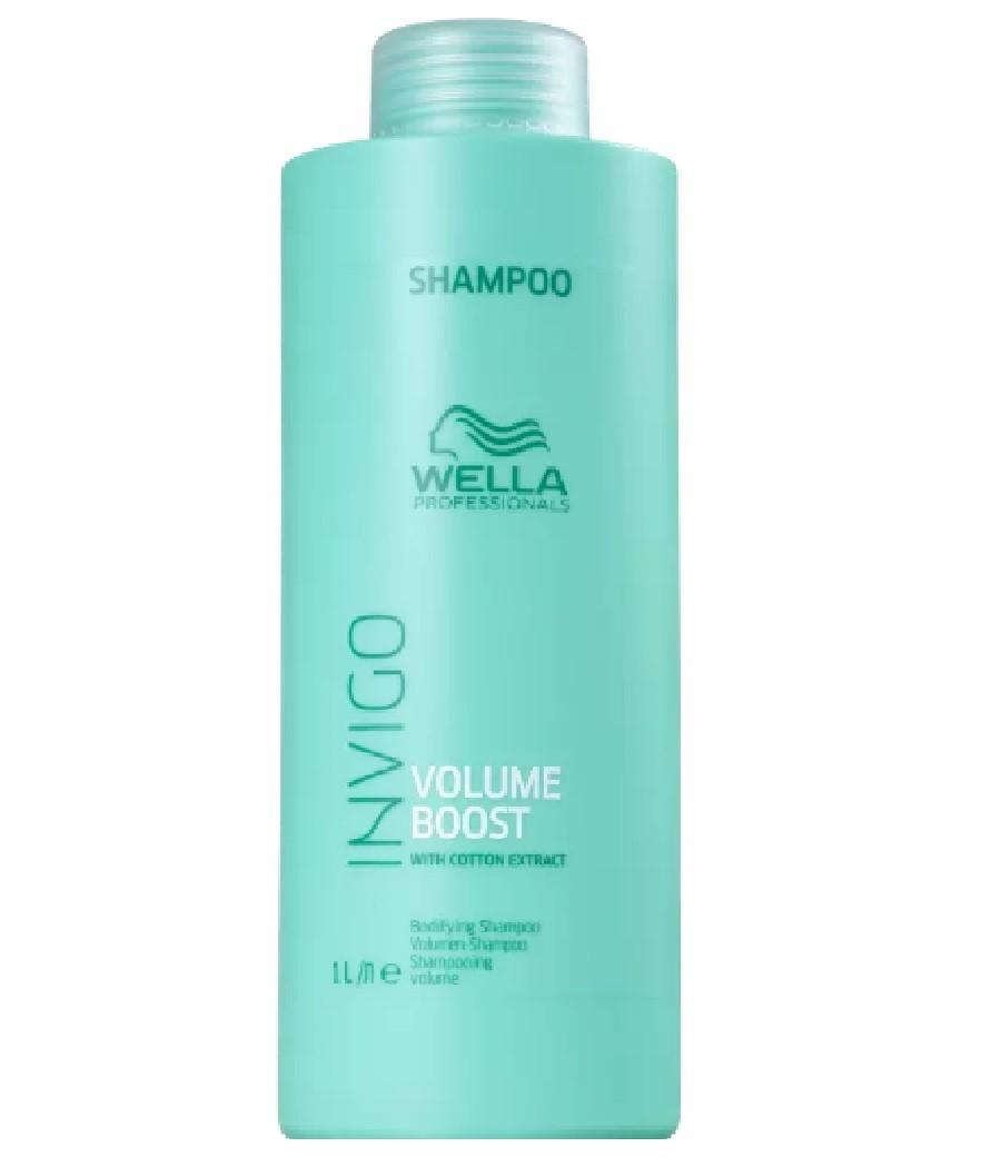 Wella Professionals Invigo Volume Boost - Shampoo 1000ml - G