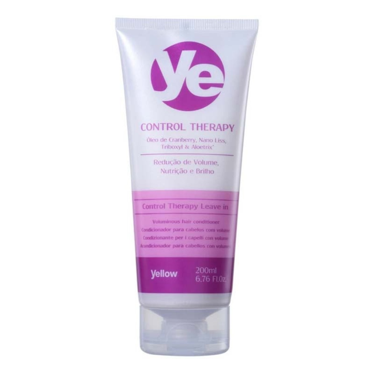 Yellow CONTROL THERAPY LEAVE IN 200ML