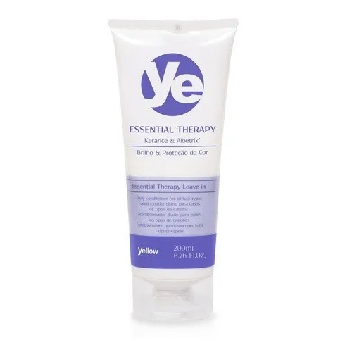 Yellow ESSENTIAL THERAPY LEAVE IN 200ML