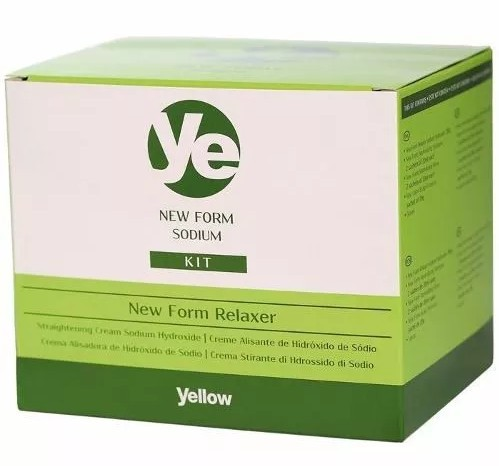 Yellow Kit Form Conditioning Cream Relaxer Regular Sódio - 200g