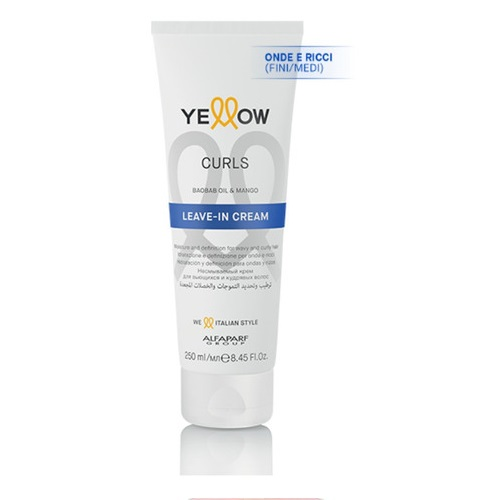 Yellow Ye Curls Leave-in Cream 250ml