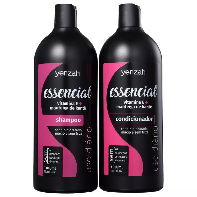 Yenzah Essencial - Kit Shampoo + Condicionador 2x1L