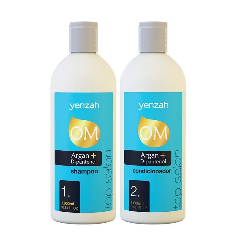 Yenzah OM Top Salon - Kit Shampoo + Condicionador 2x1L