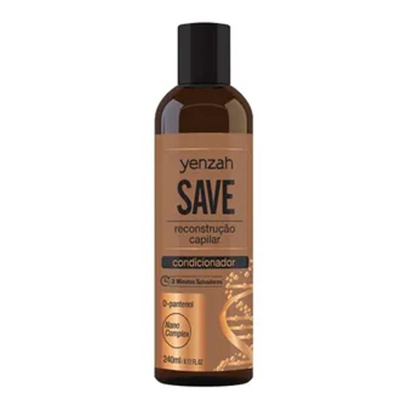 Yenzah Save - Condicionador Reconstrução Capilar 240ml