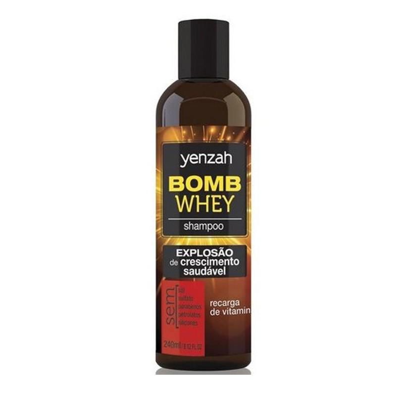 Yenzah Whey Bomb Cream - Shampoo Recarga de Vitaminas 240ml