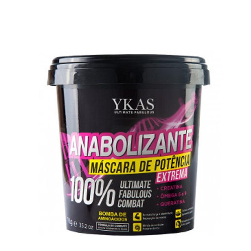 Ykas Anabolizante - Mascara de Potência 1kg