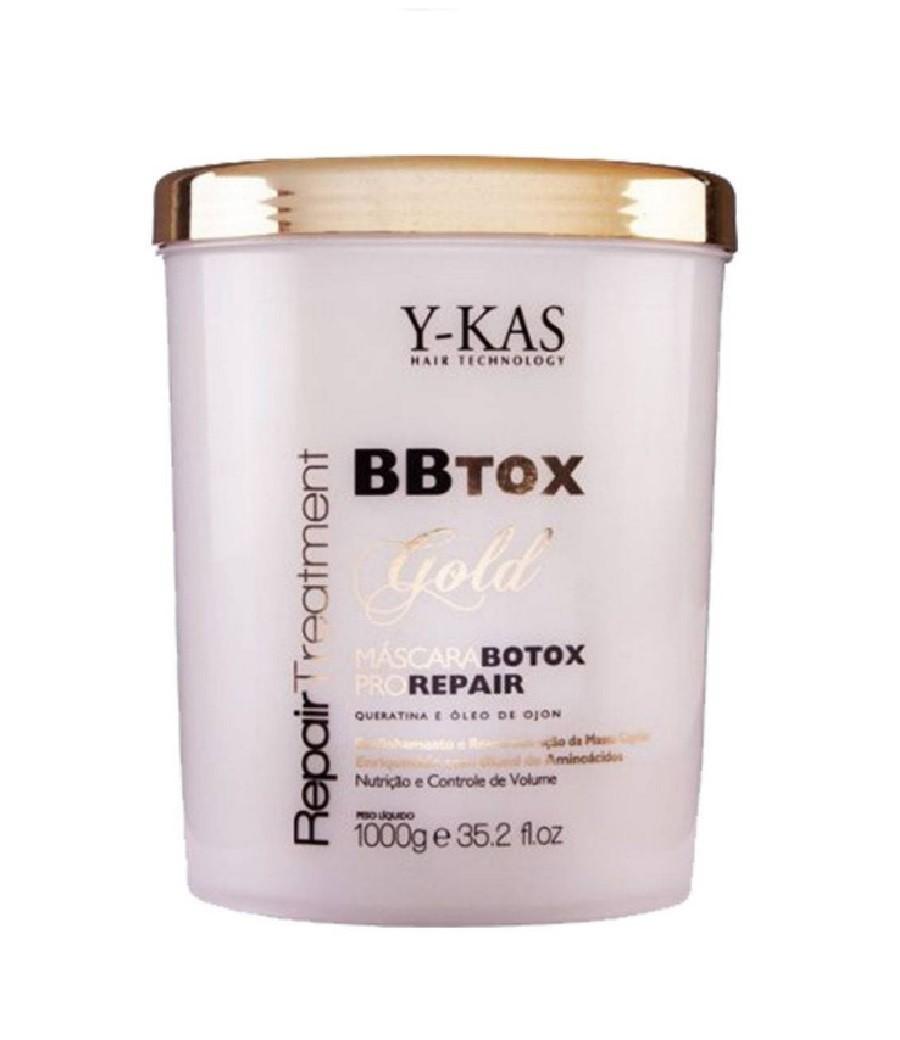 YKAS BBTox Gold Pro Repair - Máscara de Alinhamento Capilar 1Kg