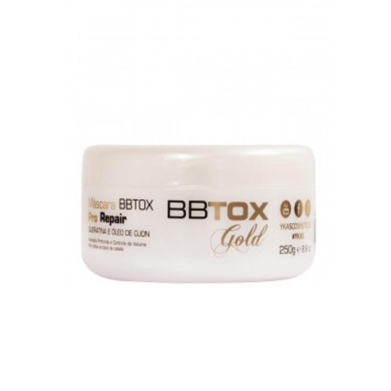 Ykas BBtox Gold Pró Repair - Mascara de Alinhamento Capilar 250g