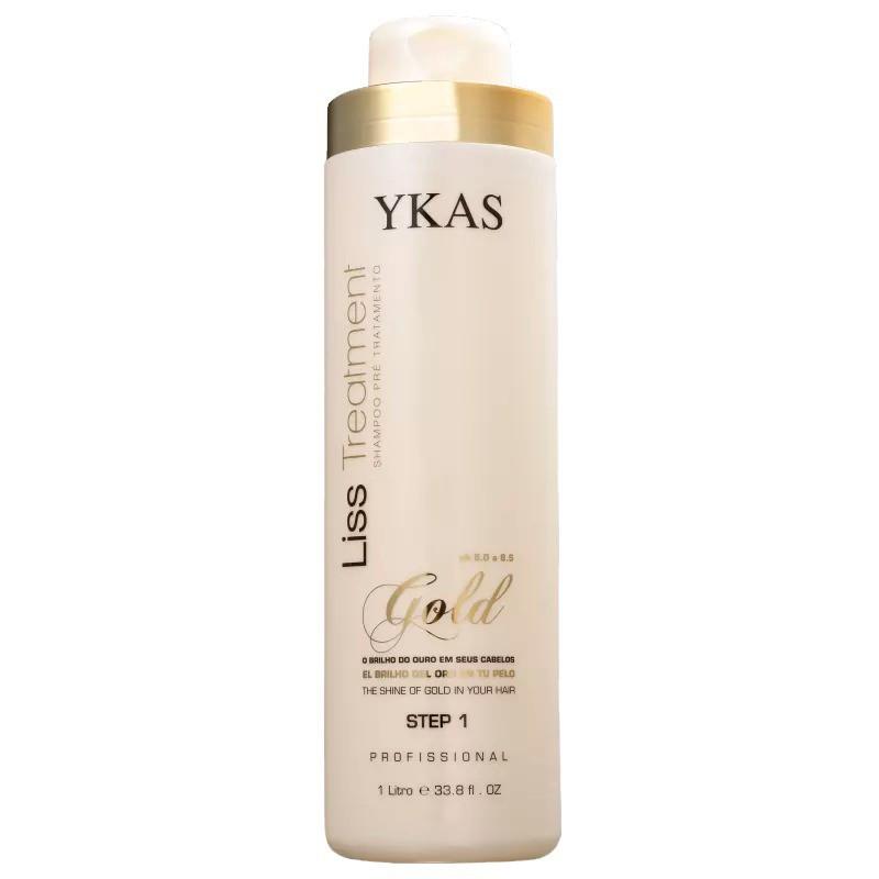 Ykas Liss Treatment Gold Step 2 - Redutor de Volume 1L
