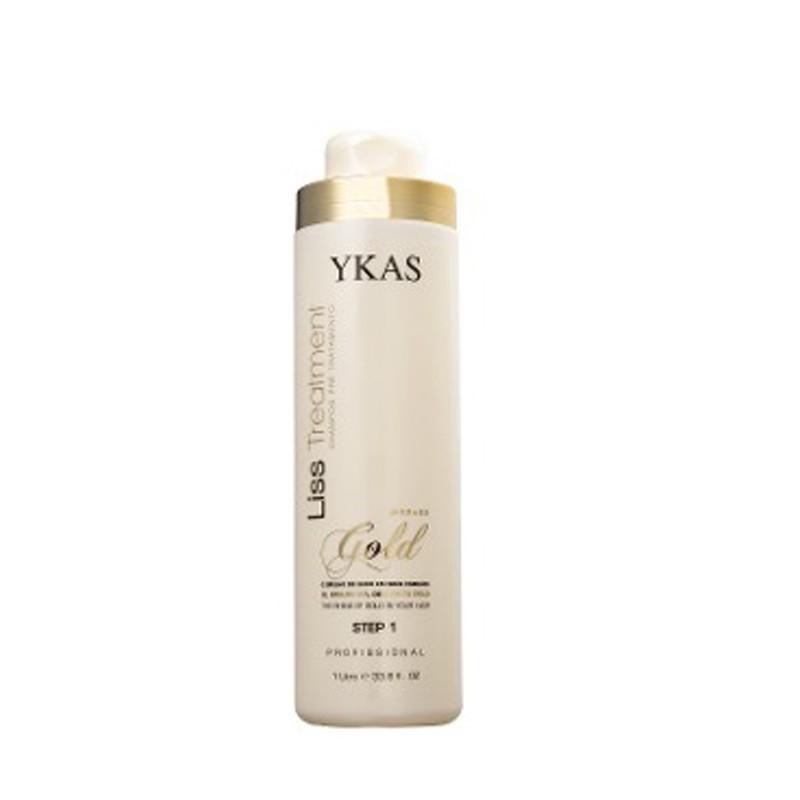 Ykas Liss Treatment Gold Step 2 - Redutor de Volume 300ml