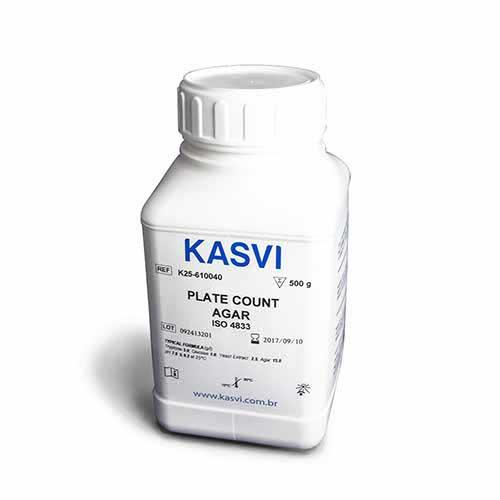 AGAR CONTAGEM DE PLACAS FRASCO 500G K25-610040 KASVI