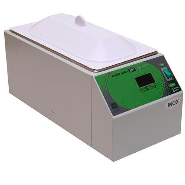 BANHO MARIA - MICROPROCESSADO - AÇO INOX 430 5 LITROS | STERILIFER