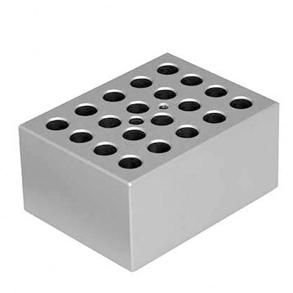 BLOCO PARA 20 MICROTUBOS DE 1,5ML COMPATÍVEL COM K80-S E K80 K81-SB03 KASVI