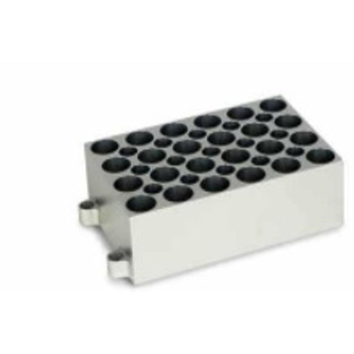 BLOCO PARA 24 TUBOS DE 5,0 ML.COMPATÍVEL COM K80-100/200 K80-01/02 e K80-120R REF. K80-2450 KASVI