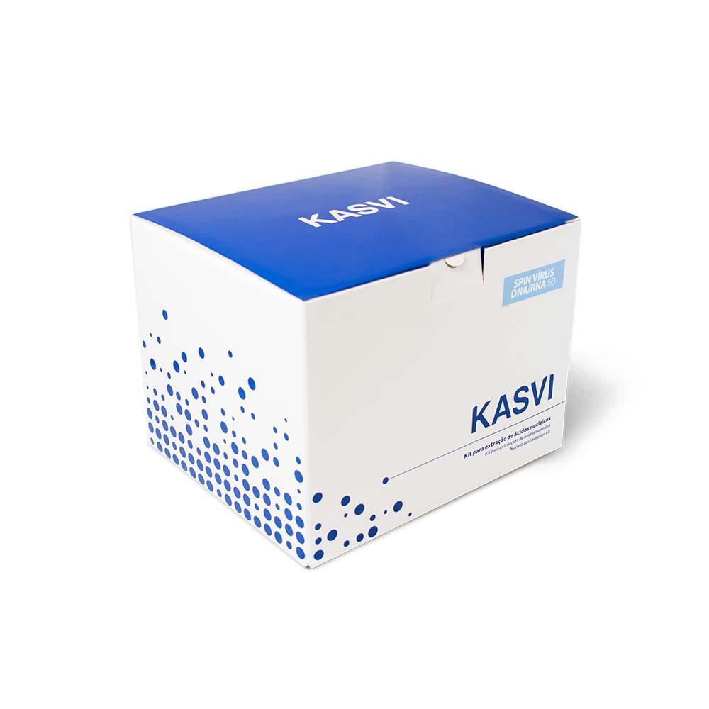 KIT DE EXTRAÇÃO DE DNA MINI SPIN 250 EXTRAÇÕES K9-0250 KASVI
