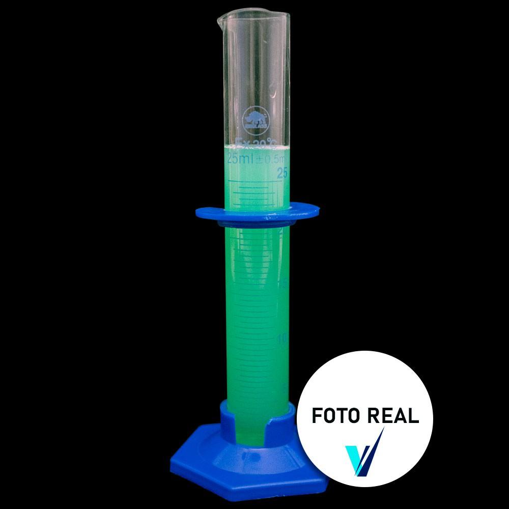PROVETA BASE PLASTICA BORO 3.3 CA 25 ML  1601HP-25 IONGLASS