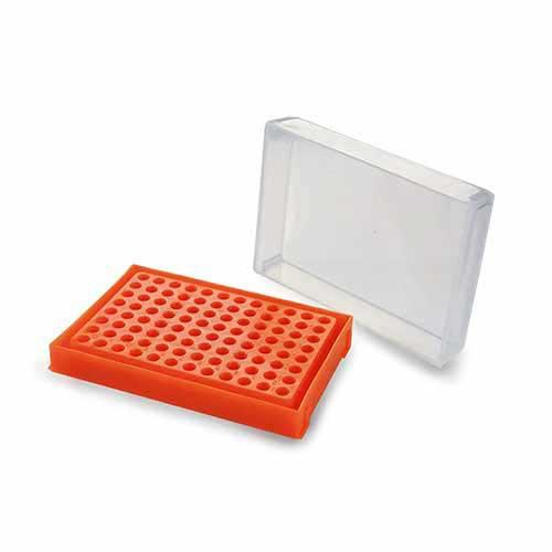 RACK PARA PCR 96 POÇOS CORES SORTIDAS K30-917 KASVI