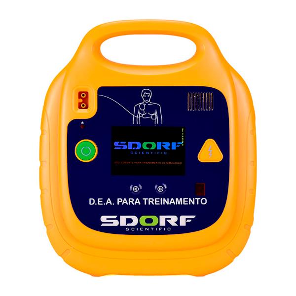 SIMULADOR DE DEA (DESFIBRILADOR EXTERNO AUTOMÁTICO) SD-8000 SDORF