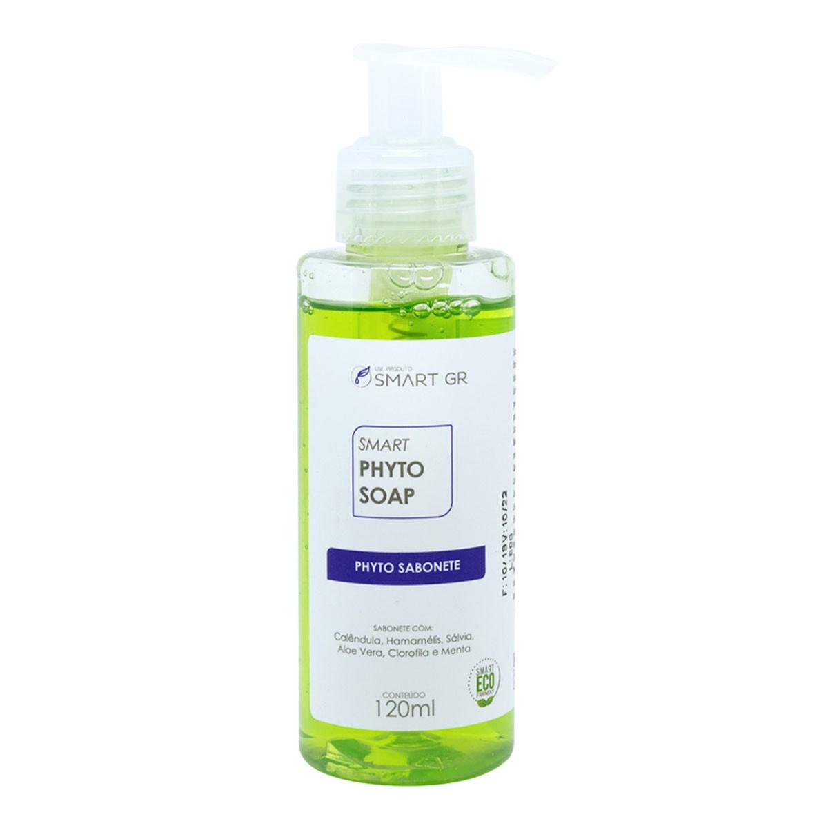SMART PHYTO SOAP SABONETE DE BIOVEGETAIS FITODETERGENTES 120ML SMART GR