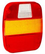 Lente Lanterna Traseira  Retangular Ford Cargo/ Caminhão VW