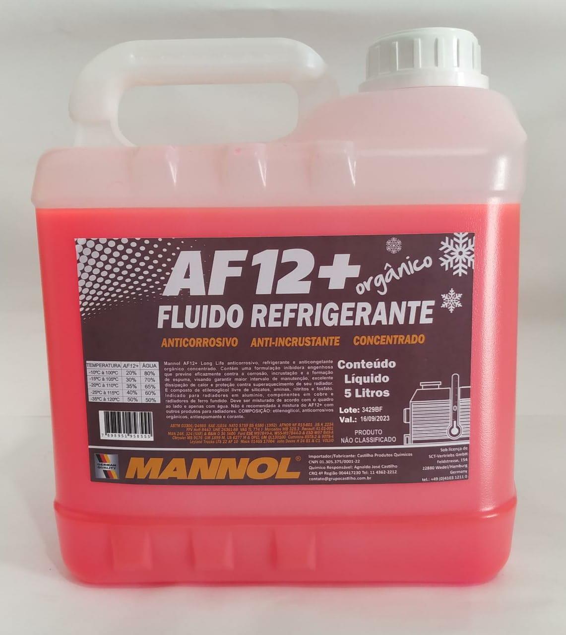 Aditivo AF12+ Mannol 5 Litros