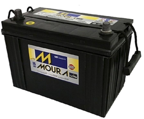 Bateria Moura 100 Amperes Caixa Alta