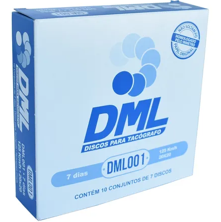 Disco De Tacografo Semanal 125k  DML