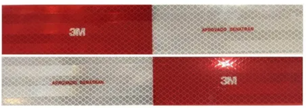 Faixa Refletiva 3M 30x5 cm Esq/ Dir