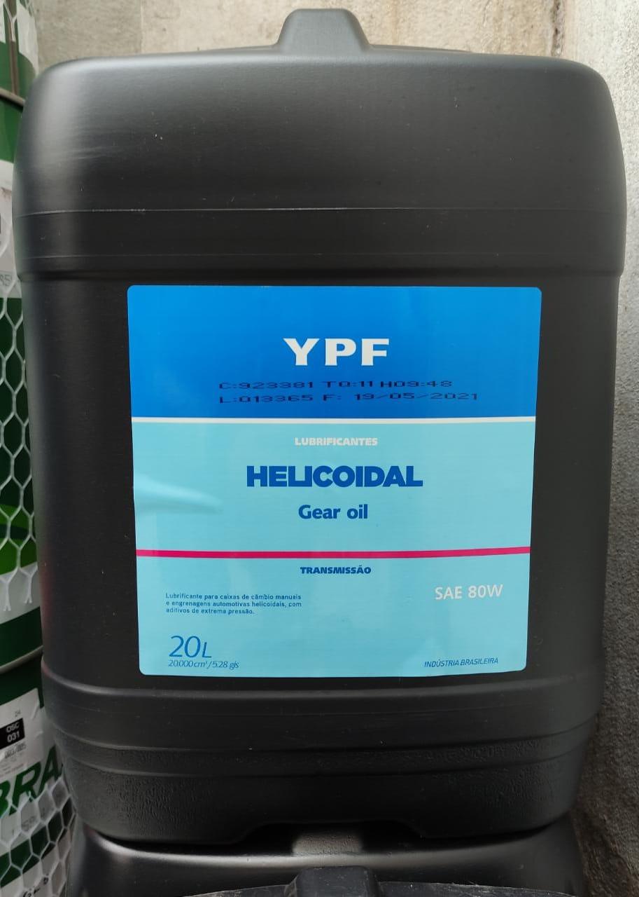 Óleo 80W Elaion Helicoidal (Balde) YPF 20 Lts