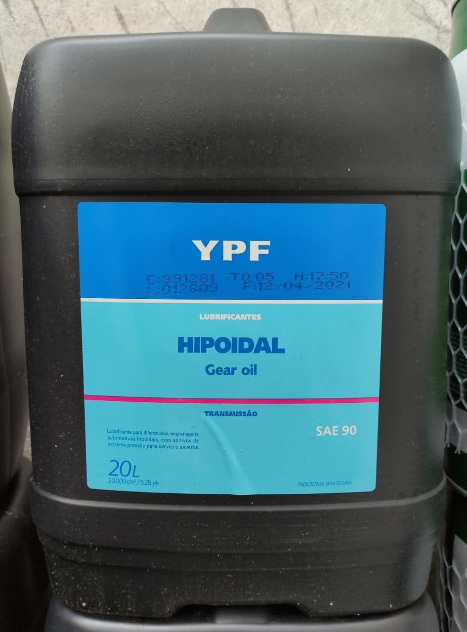 Oleo De Transmissão 90W YPF 20 Litros (Balde)  Elaion Hipoidal