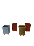 Vaso de Cerâmica Japonês MAME Cascata - Ref. J4990