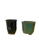 Vaso de Cerâmica Japonês MAME Cascata - Ref. J7990