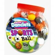 DANCLETS SPORTS BALL - 125 UNIDADES COM 8G CADA