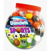 DANCLETS SPORTS BALL - 125 UNIDADES COM 8G CADA