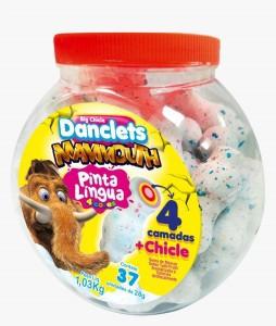 DANCLETS MAMMOUTH - 37 UNIDADES COM 28G CADA