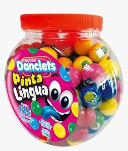 DANCLETS PINTA LINGUA -  125 UNIDADES COM 8G CADA