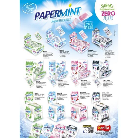 PAPERMINT MENTA 24 UNIDADES COM 0,6G CADA