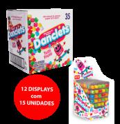 DANCLETS 5x7 SABOR TUTTI FRUTTI 12x15x10,5g