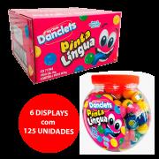 DANCLETS PINTA LINGUA BALLS SABOR TUTTI 6x125x8g