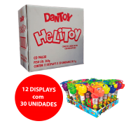 DANTOY HELITOY  COM BALINHAS SABOR TUTTI FRUTTI 12x30x2g