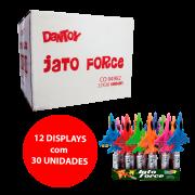 DANTOY JATO FORCE  COM BALINHAS SABOR TUTTI FRUTTI 12x30x2g