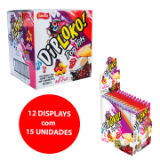 DIP LOKO POP HITS SABOR TUTTI FRUTTI 12x15x7g